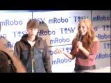 Поп-звезда Джастин Бибер продемонстрировал танцующего робота «mRobot»